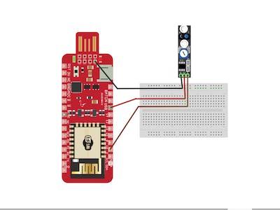 Avoidance Sensor Using Surilli WiFi