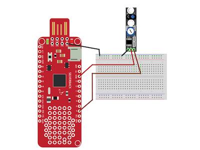 Tracking Sensor Using Surilli Basic M0