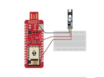 Tracking Sensor Using Surilli WiFi