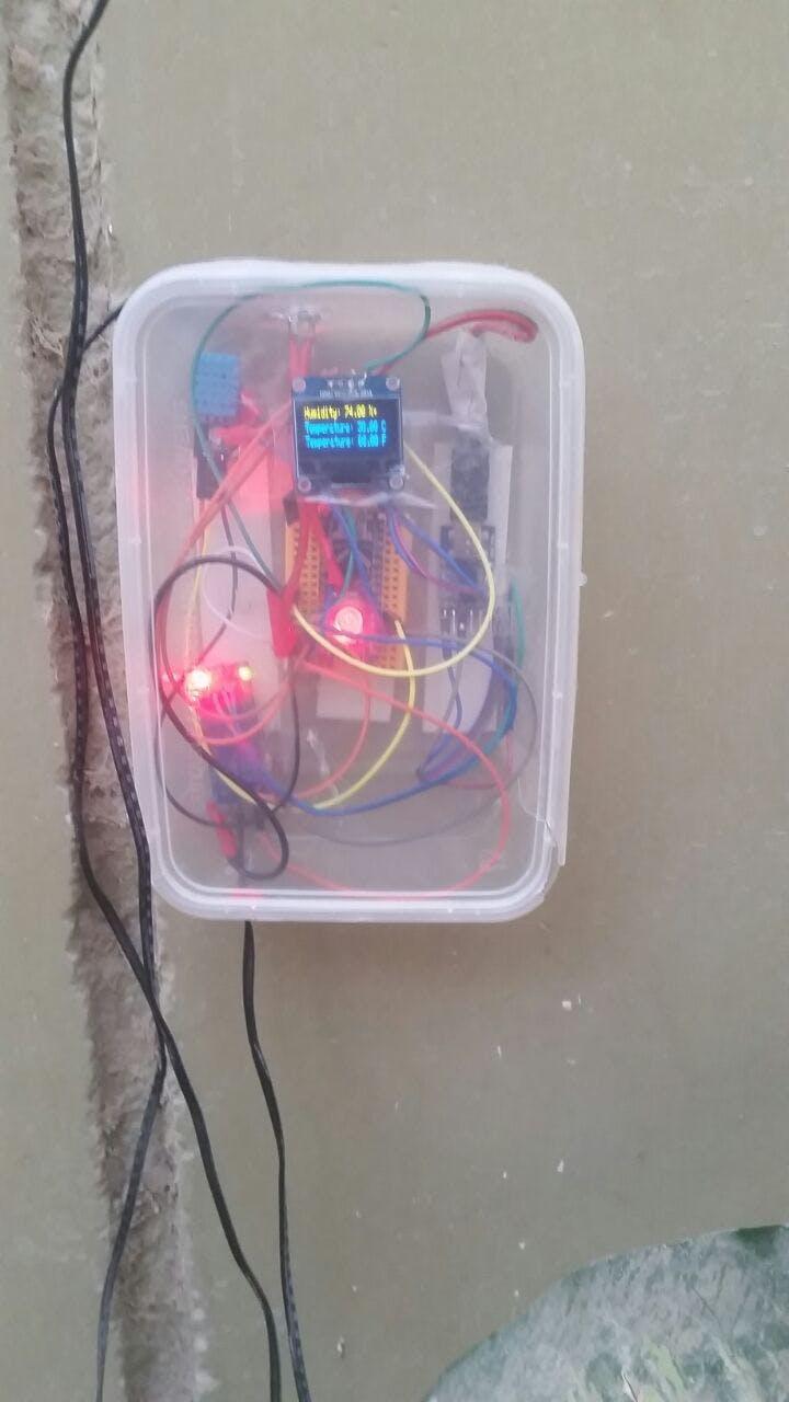 Complete control box