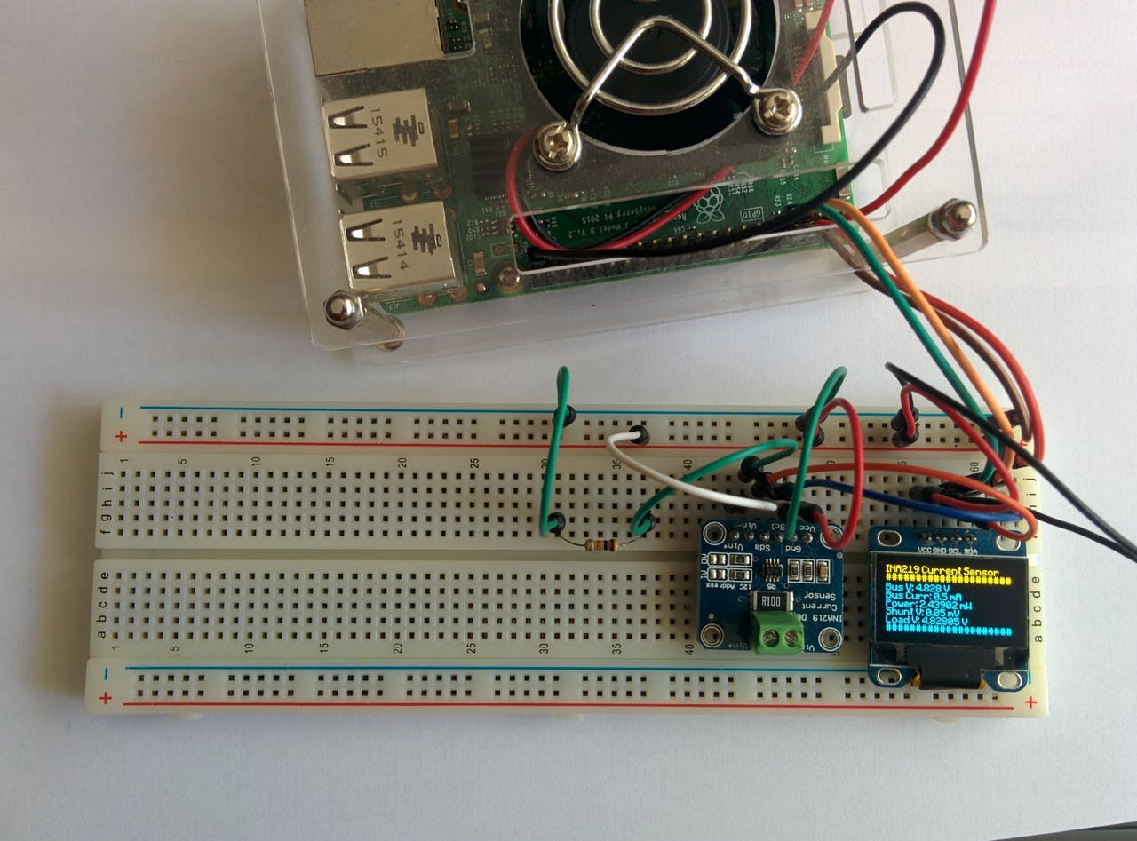 DIY Power Logger Using I2C & Python - Hackster io