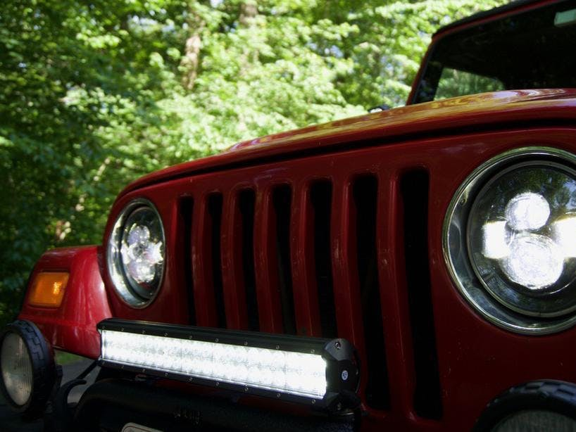 10 Years of Engineering Go Into This Jeep LED Light Install