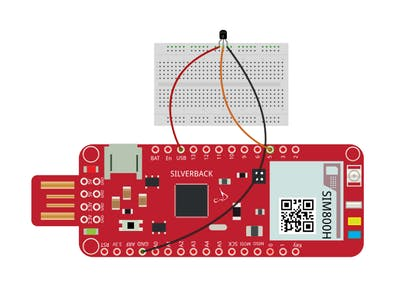 Temperature Sensor LM35 Using Surilli GSM