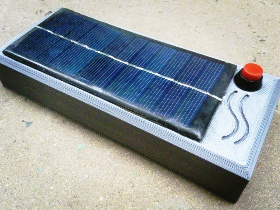 Solar Power Unit for Low Power Devices (Reinvented)