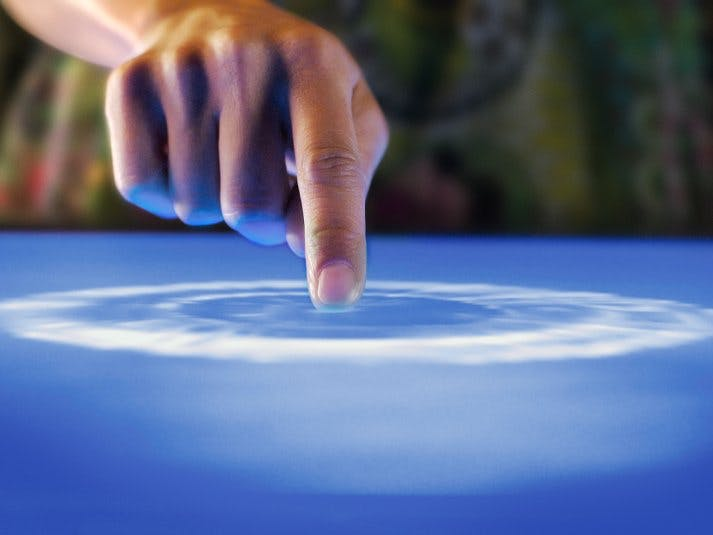 Walabot Touchpad