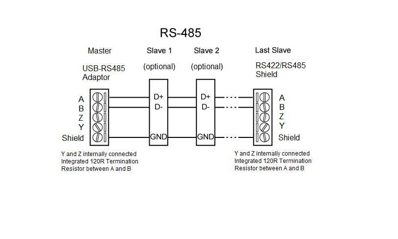 R 485 Wiring Diagram
