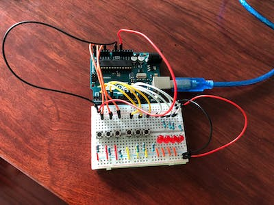 3-Bit Binary Calculator Using Arduino Uno