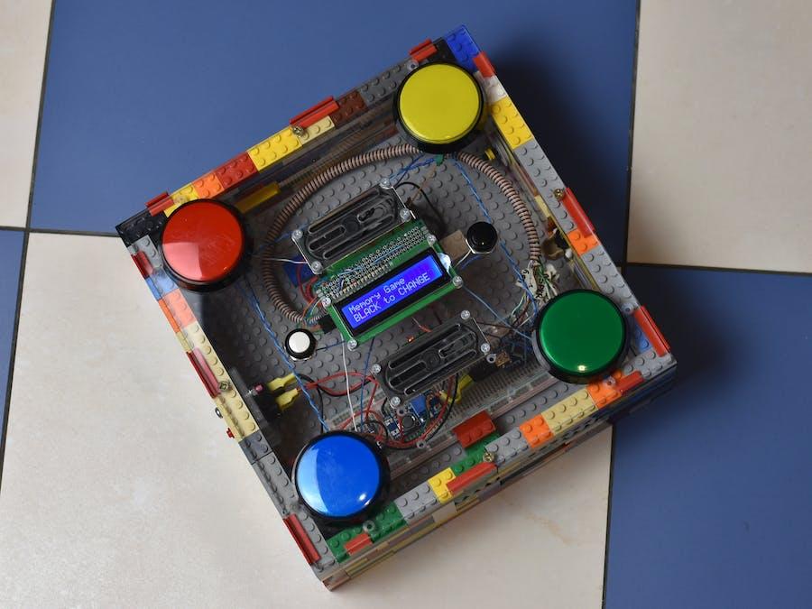 Arduino arcade lego games box hackster