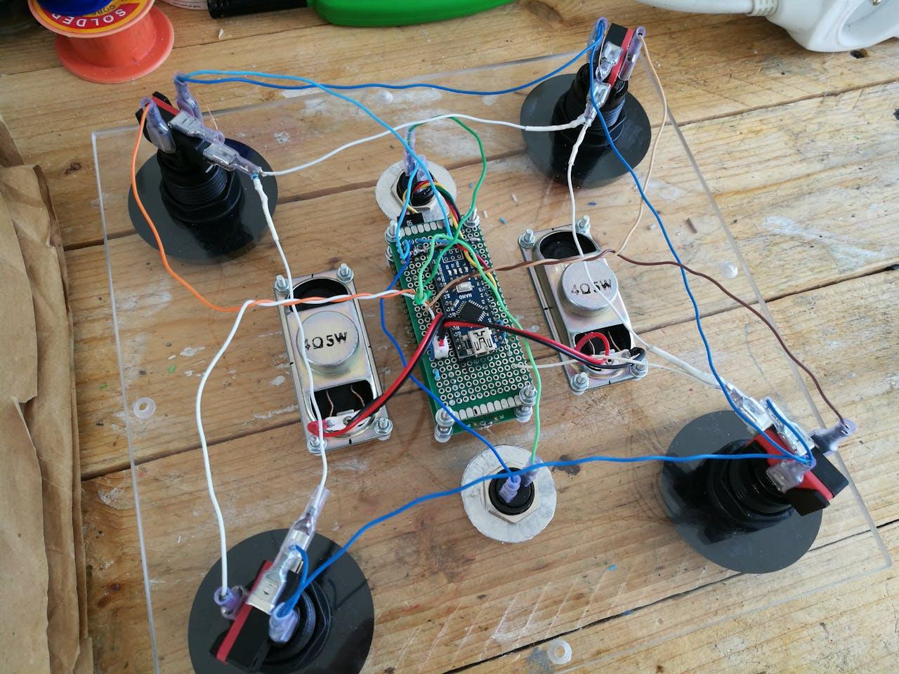 Arduino Arcade Lego Games Box Segway Wiring Diagram