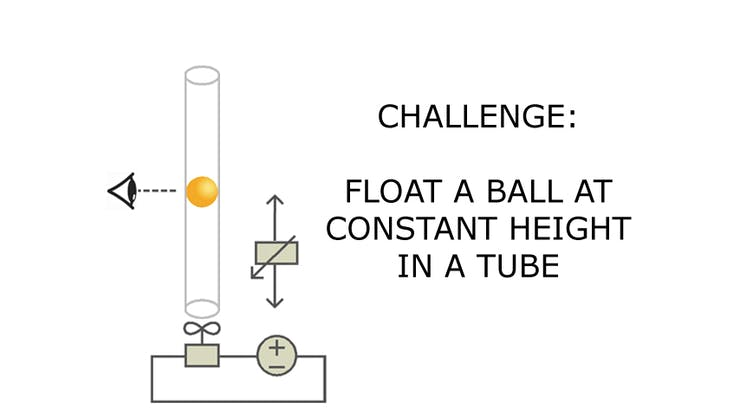 PID App: Float a Ball at Constant Height in a Tube - Hackster io