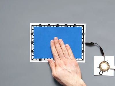How to Cover Printed Sensors with a Different Colour
