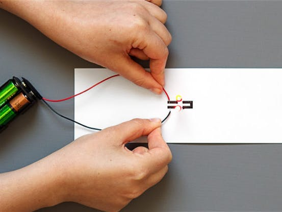 How to Use Electric Paint with LEDs