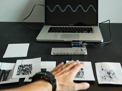 Jonathan Ravasz's Paper HID Keyboard