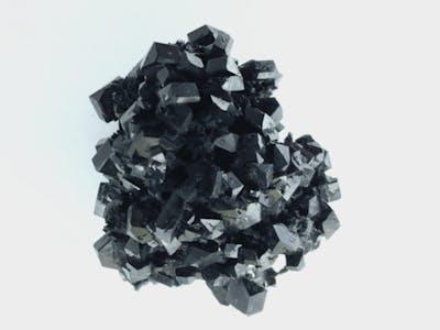 Dark Diamond Mining with Electric Paint