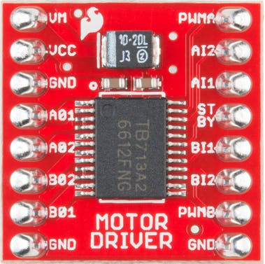 Figure 5 - TB6612FNG board