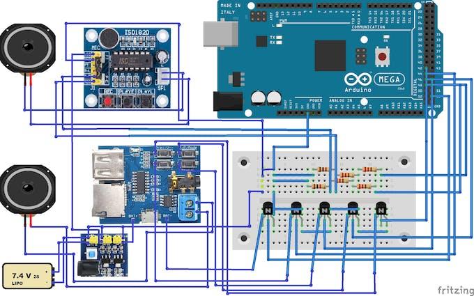 Audio wiring diagram