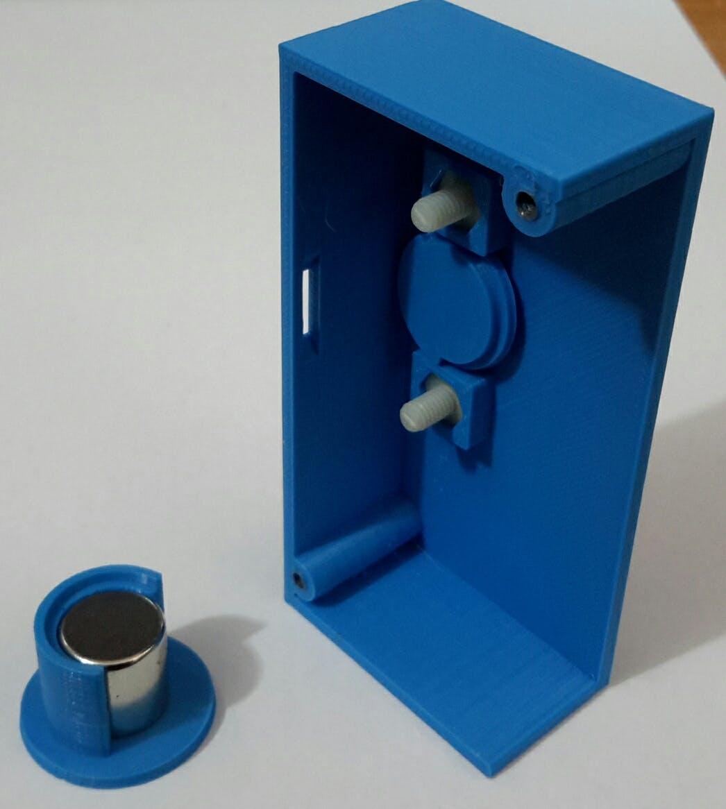 Mechanical 3D sensor Knob design.