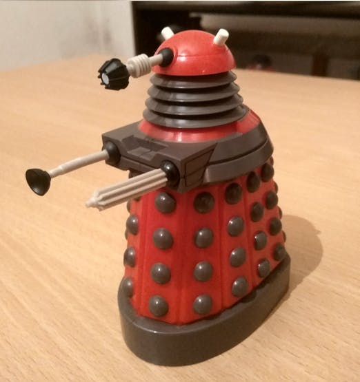 Yup, you read that right, even a Dalek!