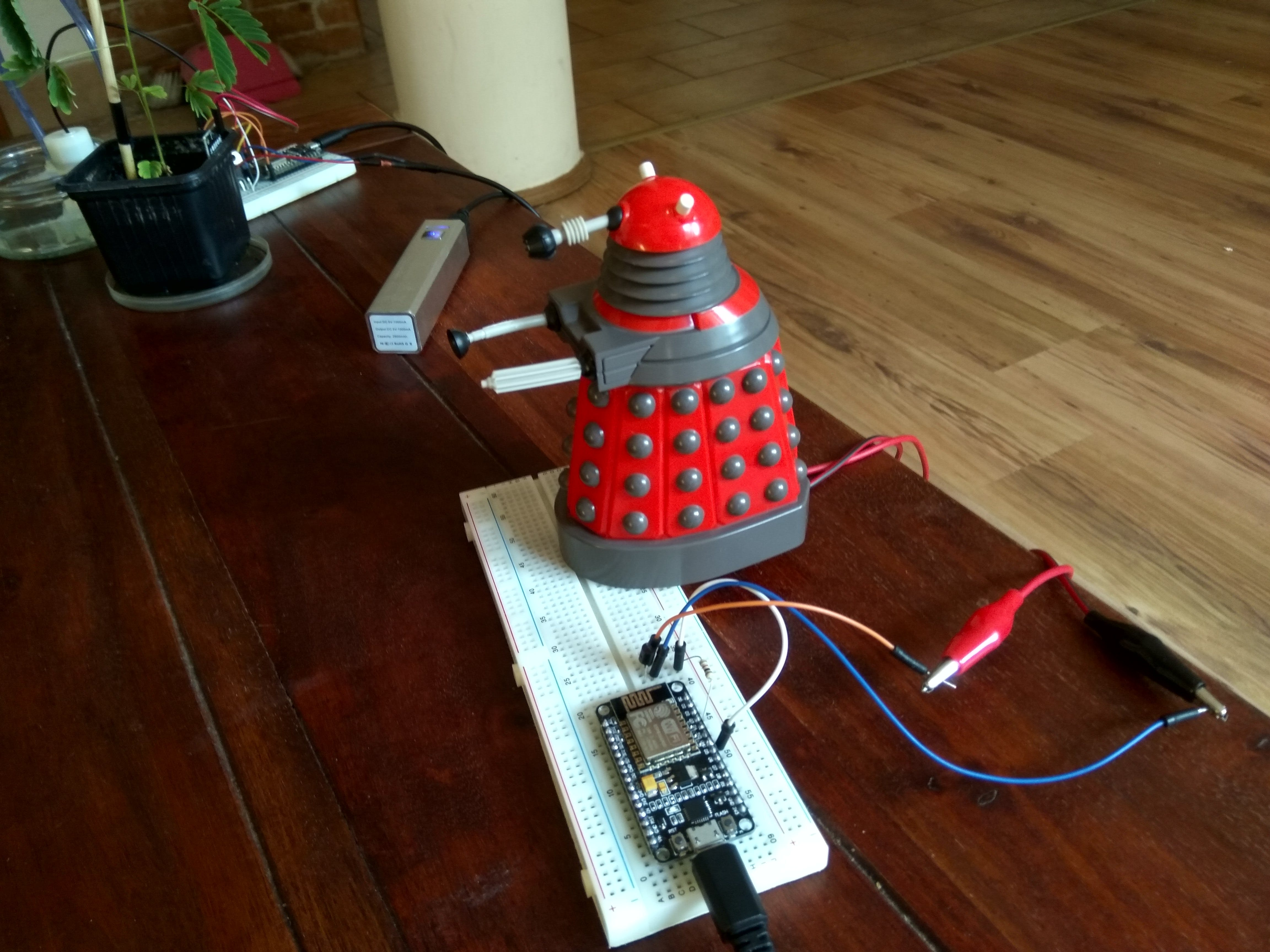 Ready to Exterminate at any moment!