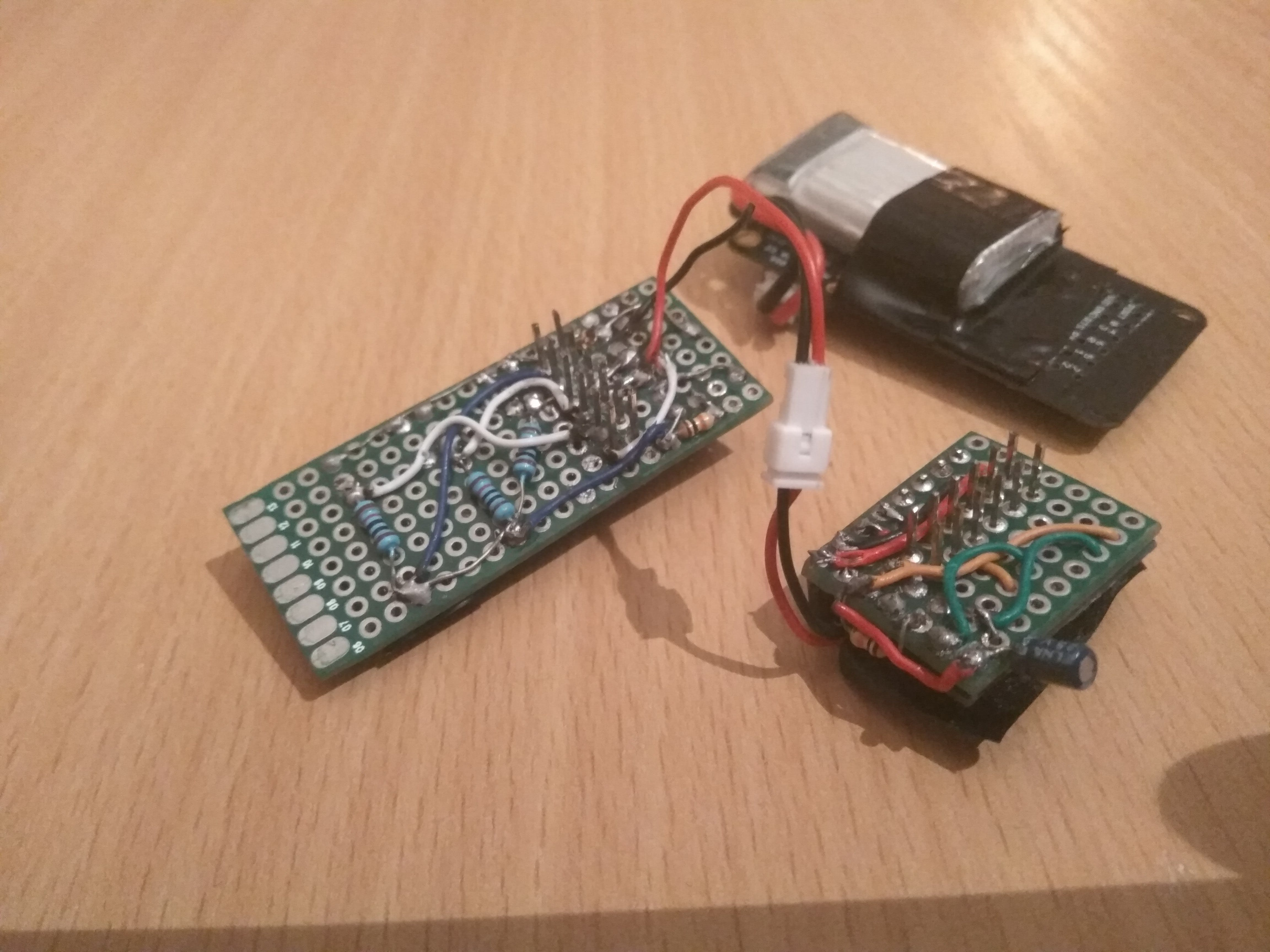 Common I2C connection of the shields