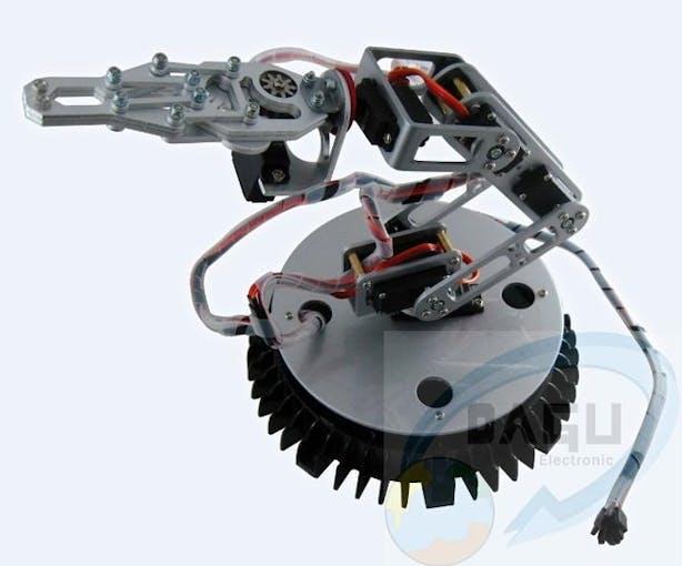 6 DoF robotic arm. Image courtesy: Aliexpress.com