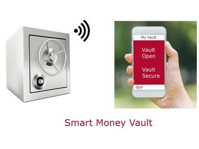 Smart Personal Money Vault Monitoring System Based on IoT