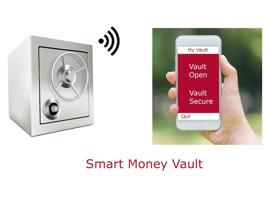smart personal money vault monitoring system based on iot hackster io