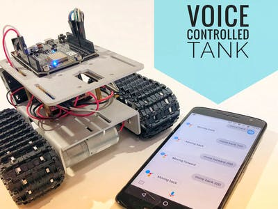 Wi-Fi Voice Controlled Robot Using Google Assistant