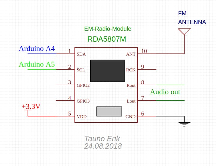 FM Radio with Frequency Display - Hackster io
