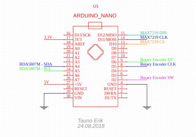 FM Radio with Frequency Display - Arduino Project Hub