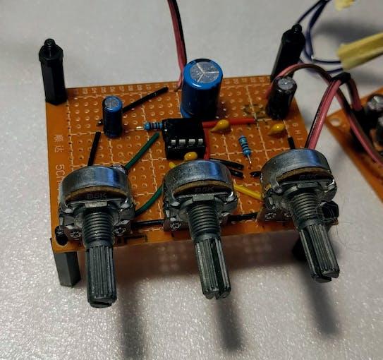 Assembled amplifier