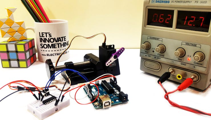 The Beginner's Guide To Control Motors by Arduino and L293D