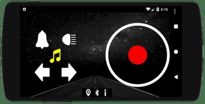 Fig. 11 - RCar app.