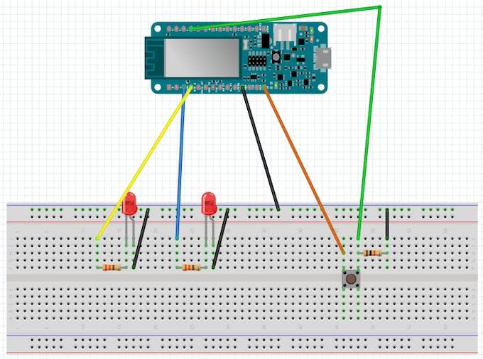MKR1000 wiring diagram