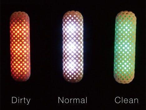LED Air Quality Meter