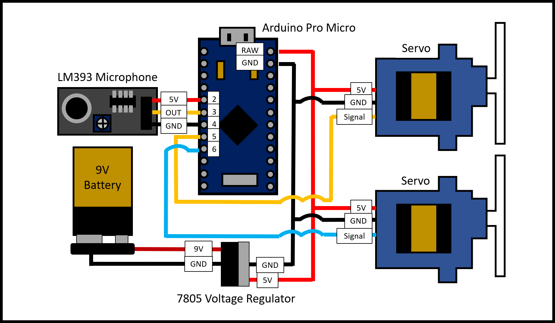 Clap On Off Switch Schematic Design