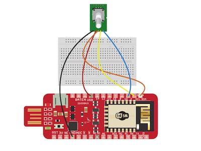 Interfacing Rotary Encoder with Surilli WiFi