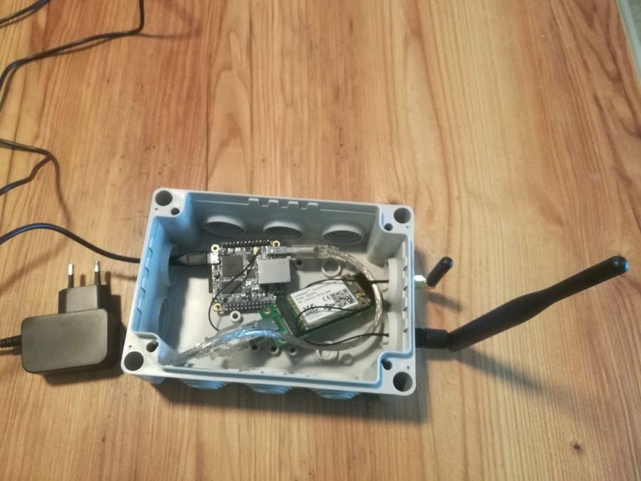 Build a LoRa Gateway with n-fuse mPCIe card