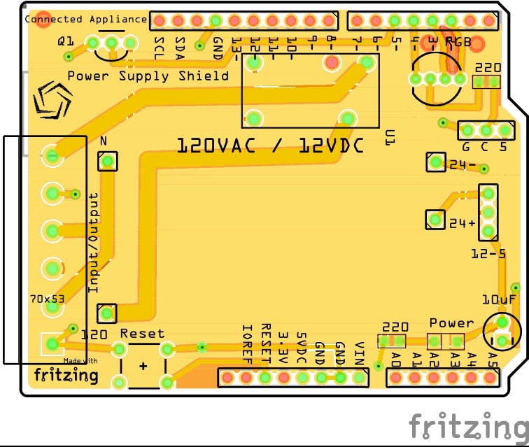 120 Volt AC power module