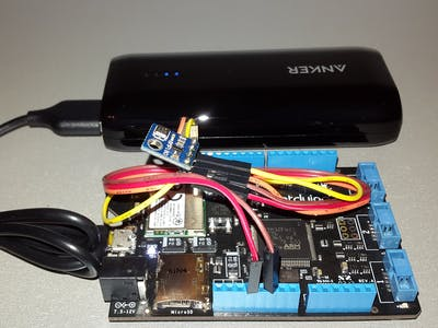 Battery Powered Weather & Air Quality Monitoring Station