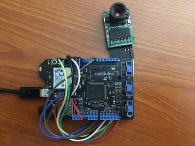 Netduino Smart Camera