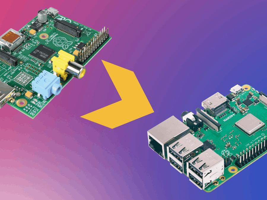 Raspberry Pi: Old vs  New - Hackster io