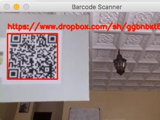 QR Code Reader Decoder (Mac/Raspberry Pi)