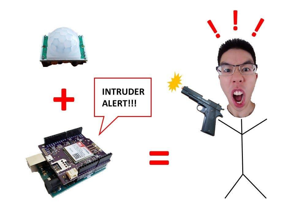 """LTE Cellular Burglar Alert (aka """"Burgalert 7000"""")"""
