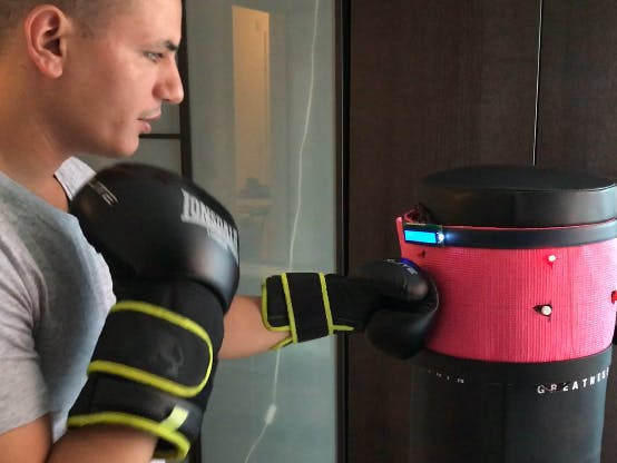 Smart Kickboxing Pad
