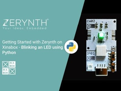 Blinking an LED Using Python - Getting Started with Zerynth