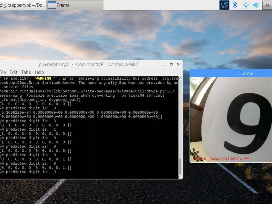 AI Digit Recognition with PiCamera - Hackster io