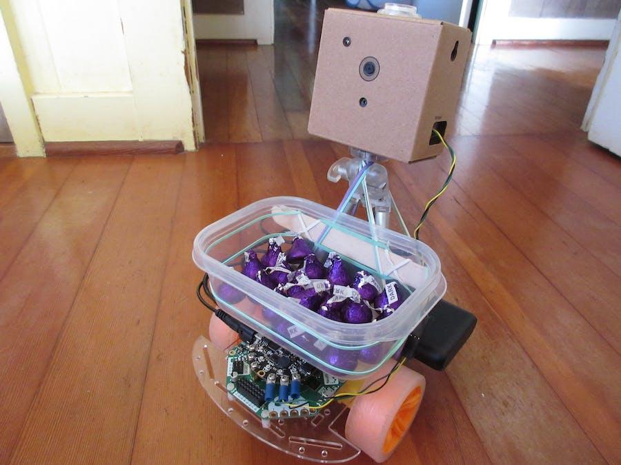 ChocoRobo - Autonomous Chocolate Delivery Robot