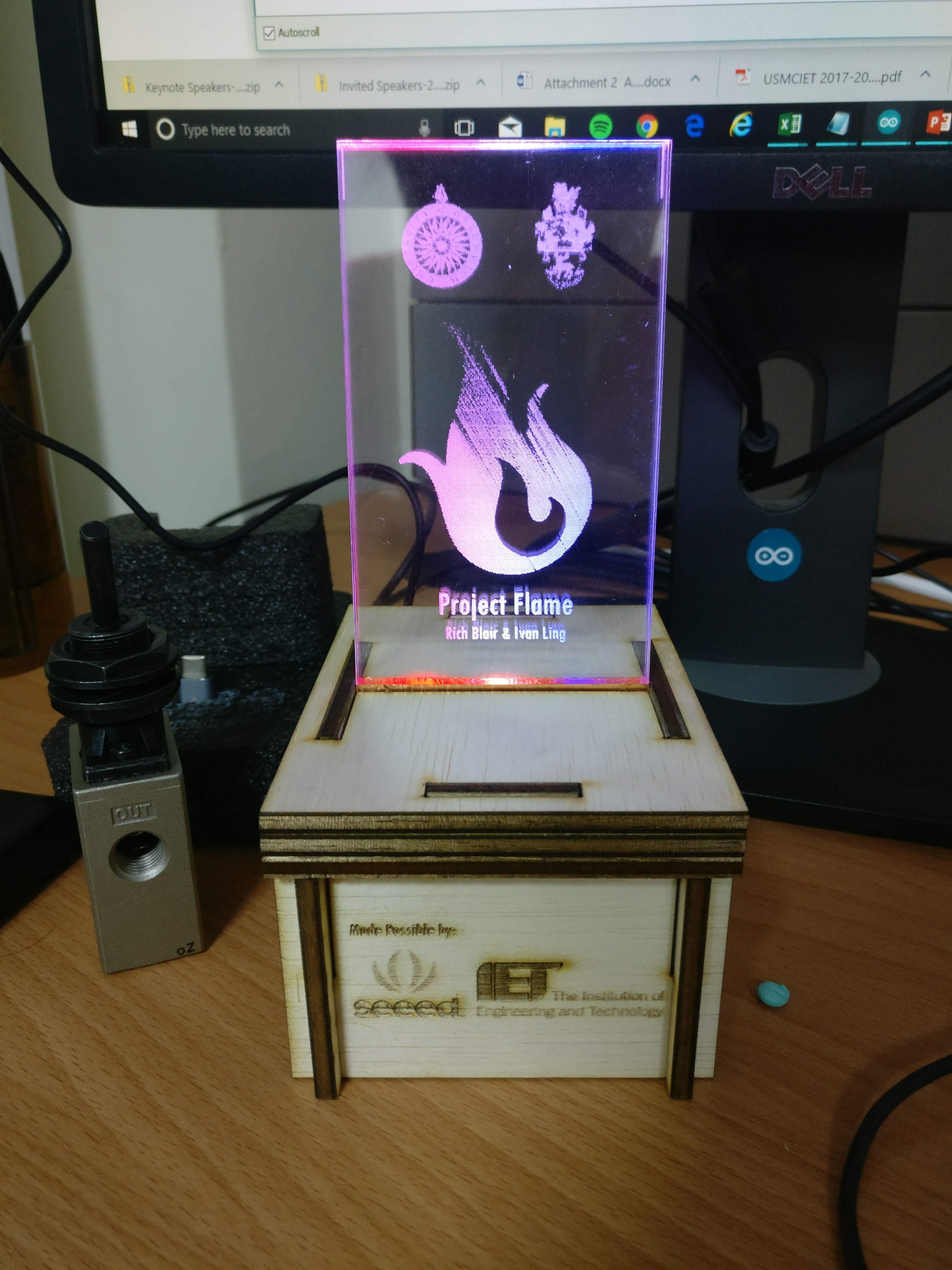 Project Flame: Final Version