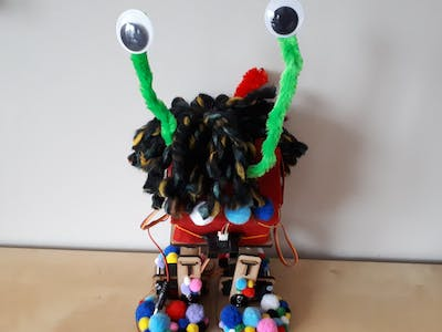 Bert, the Walking Monster Robot